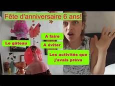 organiser une fête d anniversaire organiser une f 234 te d anniversaire 6 ans