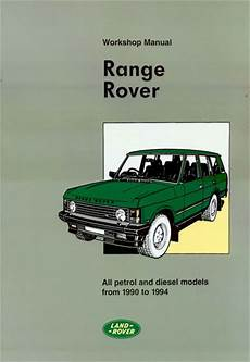 manual repair autos 1986 land rover range rover regenerative braking land range rover shop manual service repair book workshop restoration guide ebay