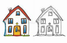 décoration de noel re d escalier maison de dessin anim illustration de vecteur illustration