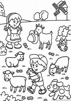 Malvorlagen Bauernhof Baby Bauernhof Kostenlose Ausmalbilder Zeichnung Mit Bildern