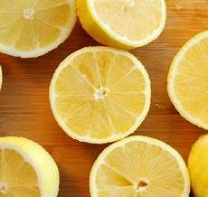 Zitrone Im Schlafzimmer - warum sie eine aufgeschnittene zitrone im schlafzimmer