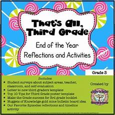 that s all third grade end of the year reflections and activities