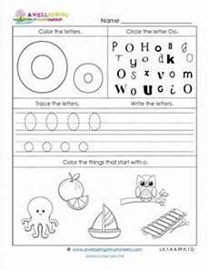 abc worksheets letter o alphabet worksheets a wellspring
