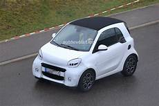 2020 smart eq fortwo spied testing facelift autoevolution