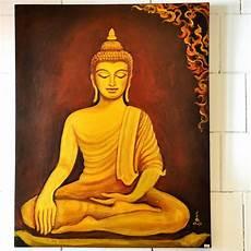 bilder buddha bild 214 l gem 228 lde thai motiv buddha 100x80x4cm buddha
