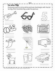 letter g matching worksheets 24631 color the g pictures worksheets