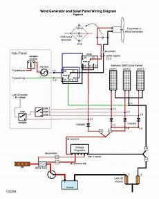 wind generator and solar wiring diagram solar panels