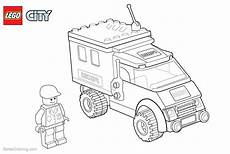 lego city coloring pages policeman free printable