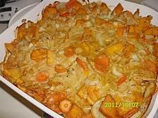Kartoffel Kürbis Auflauf - kartoffel k 252 rbis karotten auflauf rezept mit bild