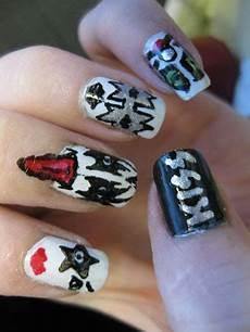bizarre nail designs create unique nail art