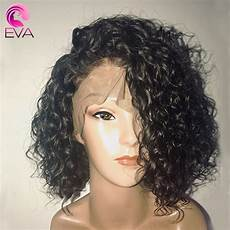 short hair brazilian curly weave alibaba eva hair short full lace human hair wigs with baby hair pre plucked brazilian remy curly human