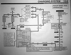 7 3 dual alternater install any wiring diagrams out there ford powerstroke diesel