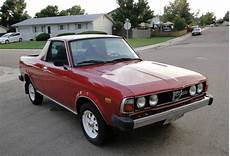 Subaru Brats For Sale by 1981 Subaru Brat Bring A Trailer
