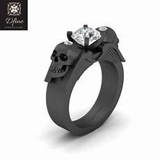 symbol of death skull engagement ring archangel wings