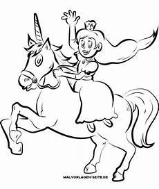 Einhorn Ausmalbild Prinzessin Malvorlage Einhorn Mit Prinzessin Ausmalbilder Kostenlos