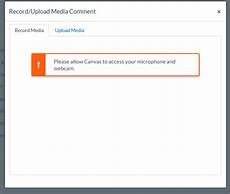 How To Allow Canvas To Access Your Microphone And Webcam | solved how do i allow canvas to access my microphone and canvas community