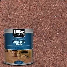 behr premium 1 gal stc 32 chicory transparent concrete stain 85001 the home depot