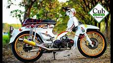 C70 Modif Touring by Motor Honda C70 Racing Motorcyclepict Co