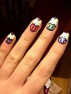 cupcakes nail designs nails cupcakes