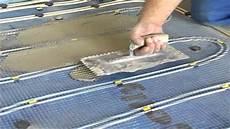 Was Kostet Fußbodenheizung - verlegung aquaheat warmwasser fu 223 bodenheizung