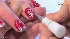Weihnachts Nägel Motive - nailart f 252 r winter weihnachten f 252 r trendige fingern 228 gel