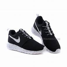 womens nike roshe run shoes white black price 75 00