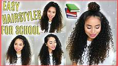 4 buildable back to school hairstyles for naturally curly hair summer youtube