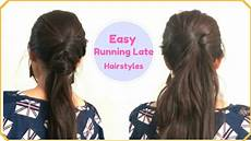easy hairstyles for unmanageable hair 2 easy running late ponytail hairstyles for frizzy