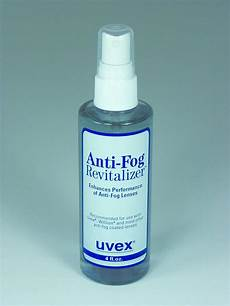 uvex introduces new anti fog revitalizer