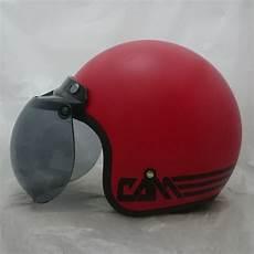 jual helm bogo polos list merah f di lapak helmet cam helmet