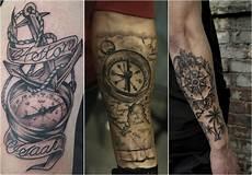 Mann Arm - deko ideen kompass bedeutung der motive bilder