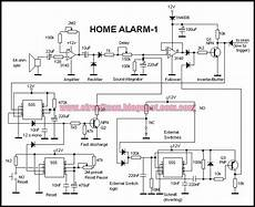 build a simple home alarm circuit using 555 ic s electronic circuits diagram