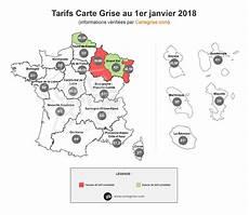 Tarif Sur Les Cartes Grises Simulation Du Co 251 T De Votre