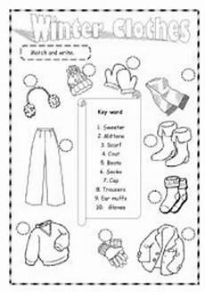 winter clothes worksheets 19966 winter clothes esl worksheet by saifonduan