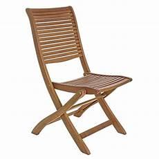 chaise pliante en bois d acacia avec ou sans
