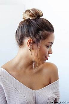 bun type hairstyles bun hairstyles 9 top knots for every hair type luxy hair