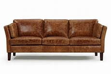 canapé cuir vintage the vintage 1960 scandinavian leather sofa and