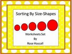 sorting size worksheets 7881 5937 best images about kindergarten math and literacy on cut and paste word