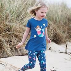 T Shirt Malvorlagen Kostenlos Meerjungfrau Frugi Slub T Shirt Meerjungfrau Blau Avocadostore