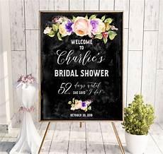 chalkboard bridal shower welcome sign bridal brunch sign bridal shower diy welcome printable