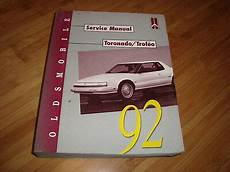 motor repair manual 1992 oldsmobile toronado electronic throttle control oldsmobile 1992 toronado trofeo service manual mwi ebay