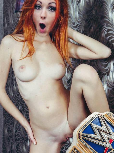 Becky Lynch Nude
