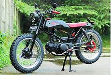 Honda Modifikasi by Modifikasi Honda Win 100 1989 Keren Ala Brattracker