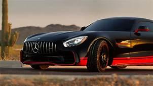 Wallpaper Mercedes Benz AMG GT R Drift Transformers The