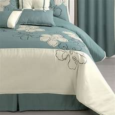 seaside bloom 10 pc comforter accessories jcpenney cordless shades comforters