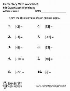 geometry worksheets for 8th grade 709 eighth grade absolute value worksheet