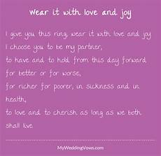 wear it with love and in 2019 wedding vows wedding script wedding ceremony