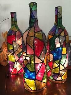 basteln mit flaschen 42 upcycling ideen f 252 r diy len aus glasflaschen