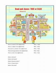 places in my city worksheets 15968 exercises my city