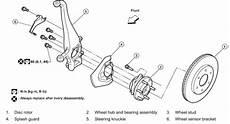 repair voice data communications 2010 nissan xterra regenerative braking service manual 1992 nissan sentra removing front hub assembly repair guides front suspension